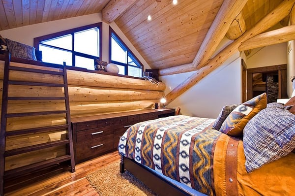 Okanagan Log Home-Sticks and Stones Design Group-20-1 Kindesign