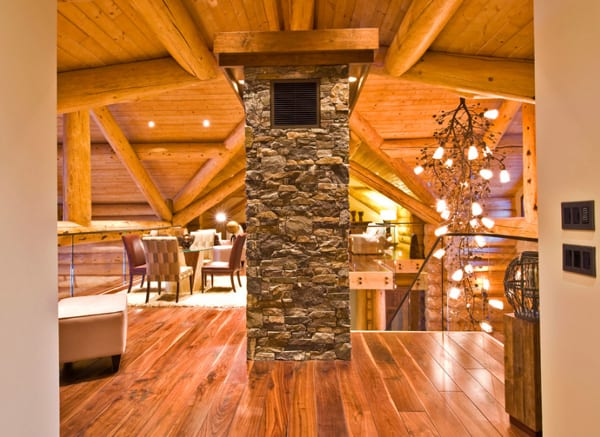 Okanagan Log Home-Sticks and Stones Design Group-21-1 Kindesign
