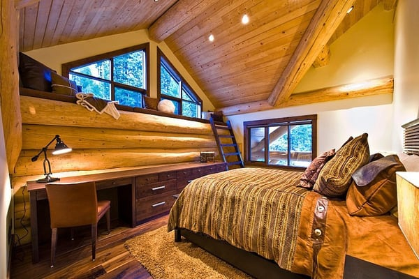 Okanagan Log Home-Sticks and Stones Design Group-22-1 Kindesign
