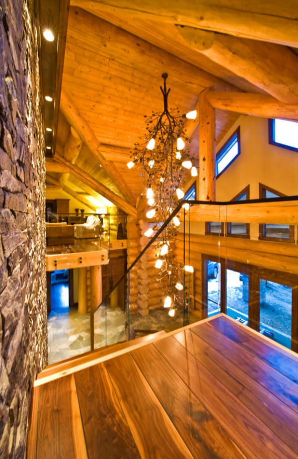 Okanagan Log Home-Sticks and Stones Design Group-23-1 Kindesign