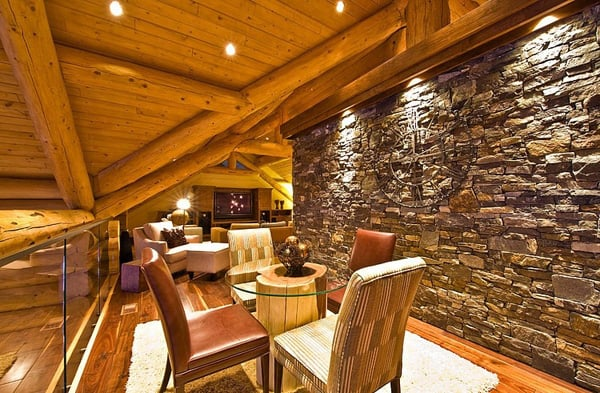 Okanagan Log Home-Sticks and Stones Design Group-24-1 Kindesign