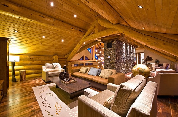 Okanagan Log Home-Sticks and Stones Design Group-25-1 Kindesign