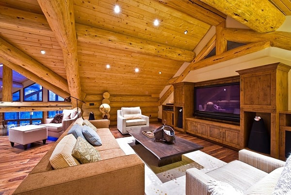 Okanagan Log Home-Sticks and Stones Design Group-26-1 Kindesign
