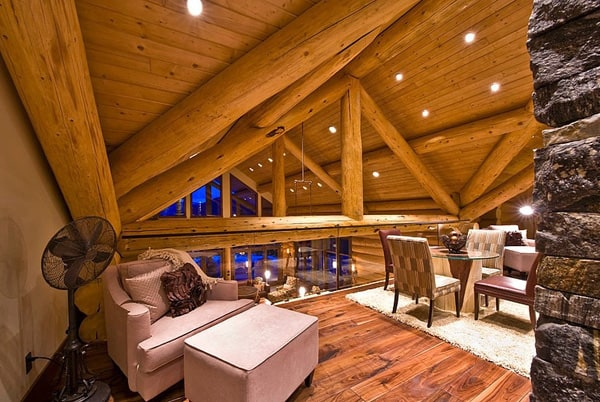 Okanagan Log Home-Sticks and Stones Design Group-27-1 Kindesign