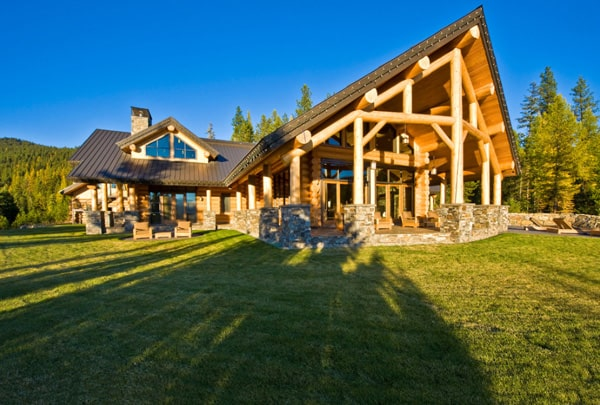 Okanagan Log Home-Sticks and Stones Design Group-28-1 Kindesign