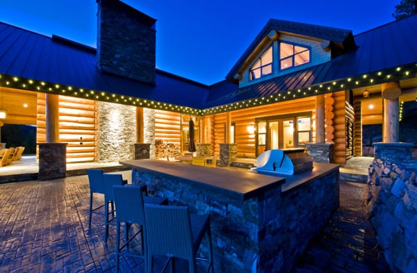 Okanagan Log Home-Sticks and Stones Design Group-31-1 Kindesign