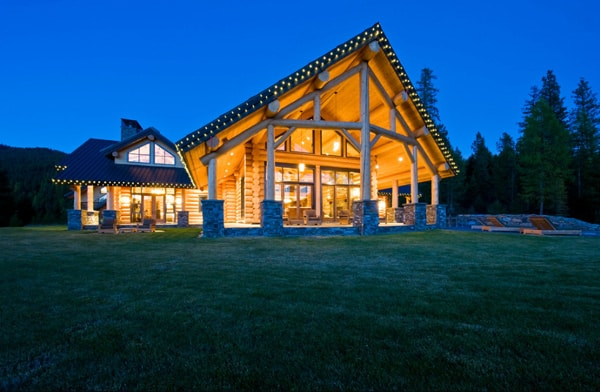 Okanagan Log Home-Sticks and Stones Design Group-32-1 Kindesign