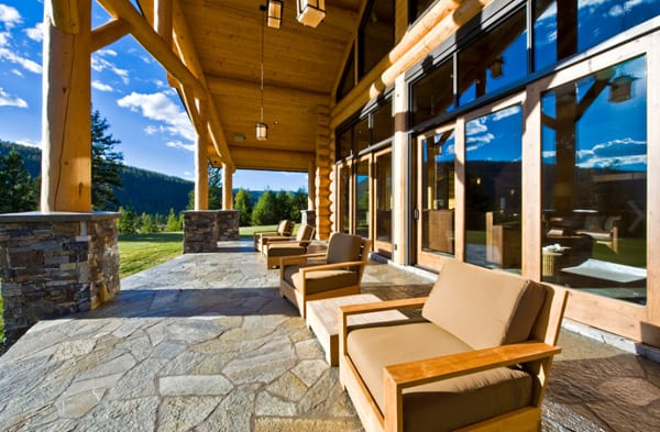 Okanagan Log Home-Sticks and Stones Design Group-33-1 Kindesign