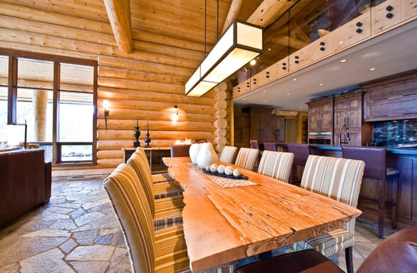 Okanagan Log Home-Sticks and Stones Design Group-36-1 Kindesign