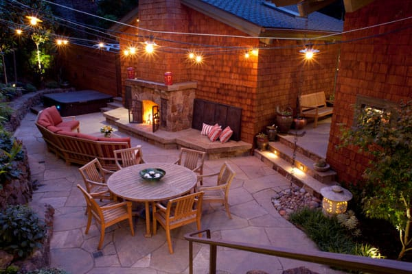 52 spectacular outdoor string lights to illuminate your patio outdoor patio string lights 15 1 kindesign workwithnaturefo