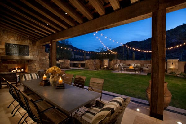 Great Outdoor Patio String Lights 47 1 Kindesign