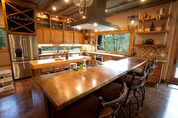 Rustic Modern Residence- Wright-Built-05-1 Kindesign