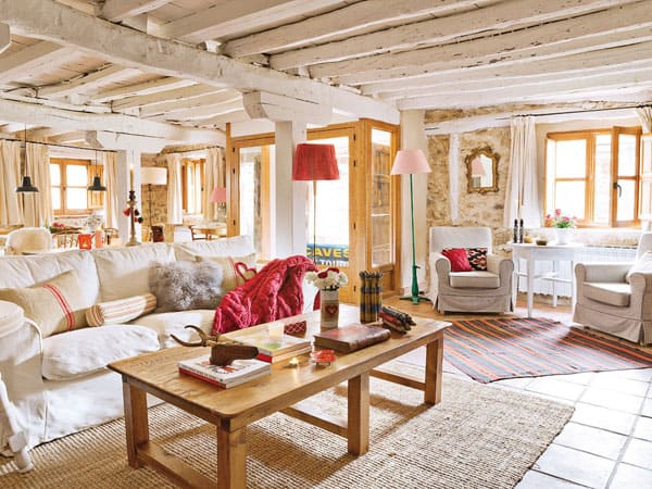 Spanish stone cottage evoking a warm rustic feel - Resource furniture espana ...