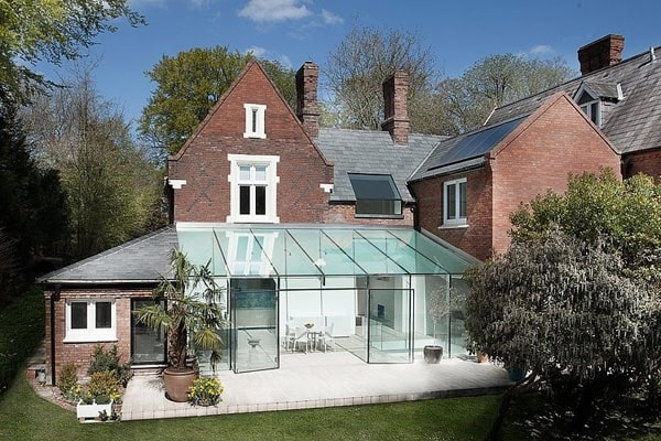 featured posts image for Modern renovation and extension in England: The Glass House