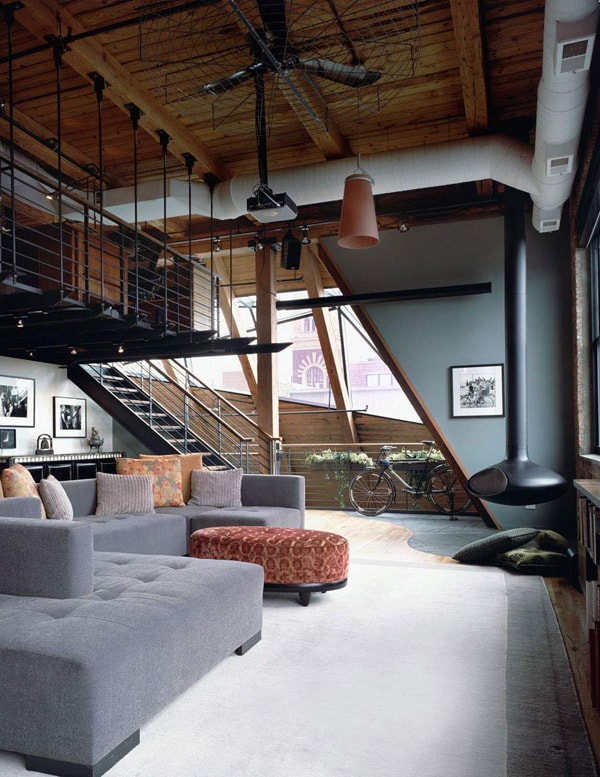 featured posts image for Three-story West Loop Loft renovation in Chicago
