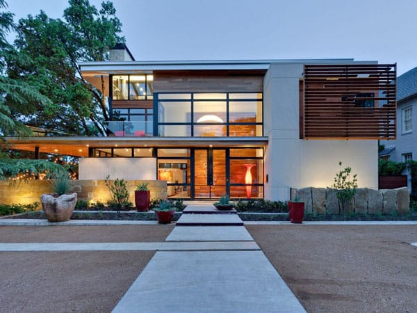 featured posts image for Eco-Friendly meets high style: Caruth Boulevard Residence