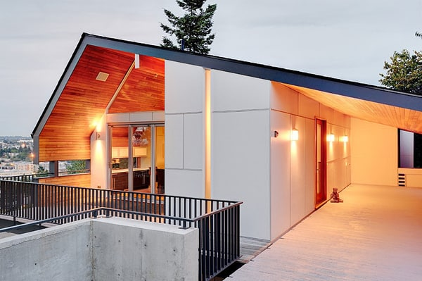featured posts image for Queen Anne mid-modern residence in Seattle