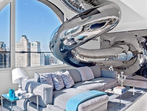 featured posts image for Sliding down a four-story Manhattan penthouse: Skyhouse