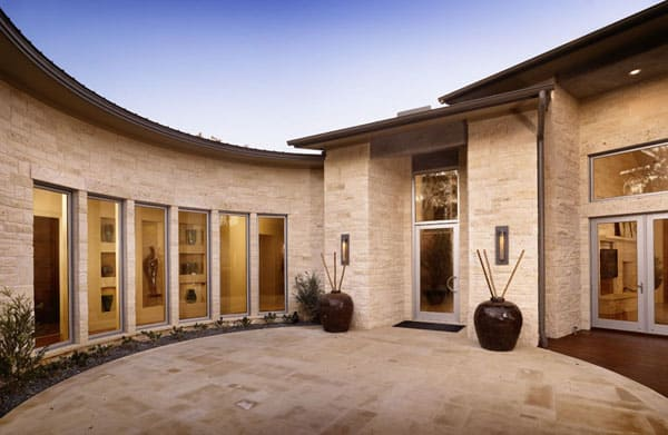 Spanish Oaks Tour Home In Texas By Cornerstone Architects