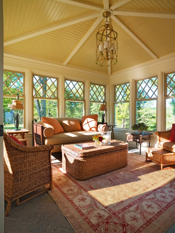 Sunroom Design Inspiration-18-1 Kindesign