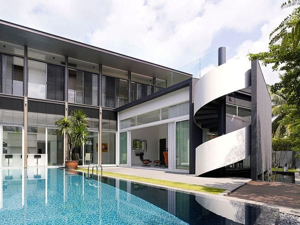 featured posts image for Modern home in Singapore blurs indoor-outdoor boundaries