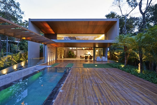 featured posts image for Bosque da Ribeira Residence surrounded by Brazilian jungle