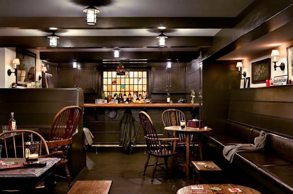 featured posts image for Incredible makeover of basement turned home pub