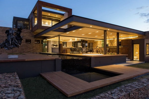 featured posts image for Imposing modern residence in South Africa: House Boz