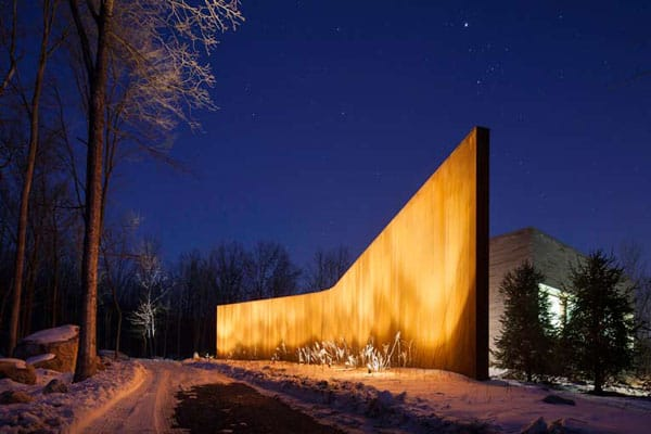 House in the Woods-William Reue Architecture-01-1 Kindesign