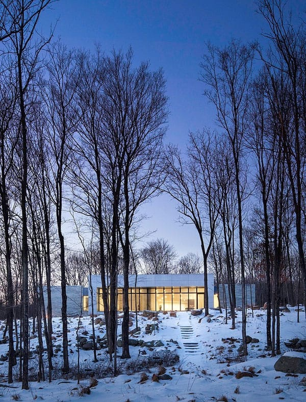 House in the Woods-William Reue Architecture-02-1 Kindesign