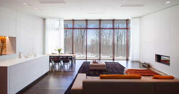 House in the Woods-William Reue Architecture-04-1 Kindesign