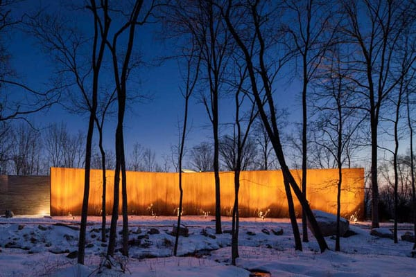 House in the Woods-William Reue Architecture-14-1 Kindesign