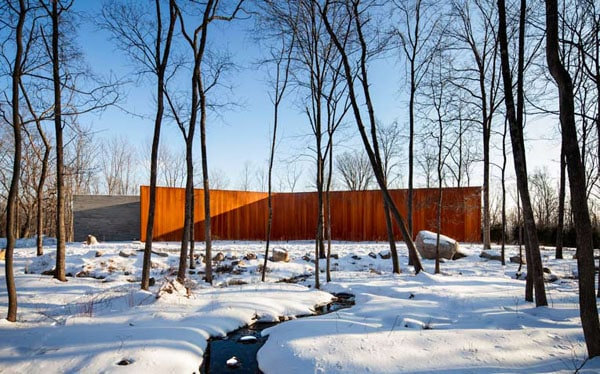 House in the Woods-William Reue Architecture-15-1 Kindesign