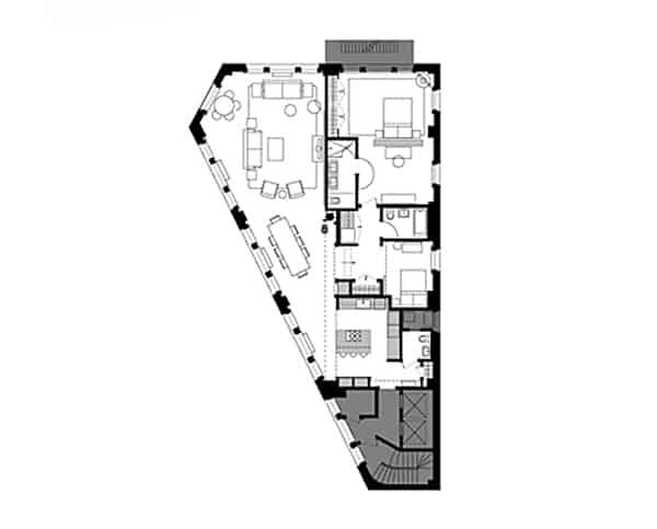 Hudson Street Loft-wUNDERground-11-1 Kindesign