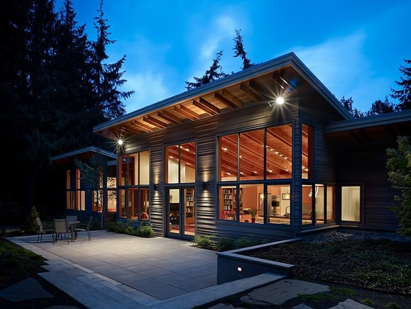 featured posts image for Striking Port Townsend Residence surrounded by forest
