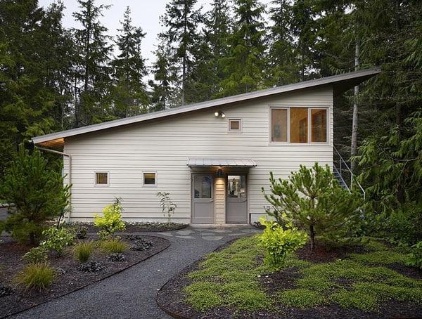 Striking port townsend residence surrounded by forest for Accessory dwelling unit austin