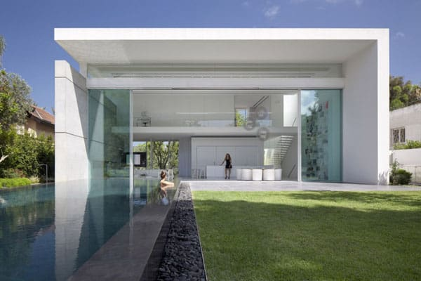 featured posts image for Sumptuous modern pad in Israel by Pitsou Kedem Architects
