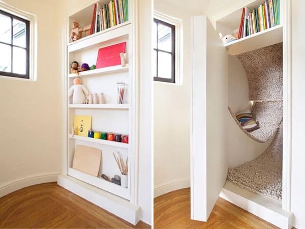 Secret hidden rooms in homes