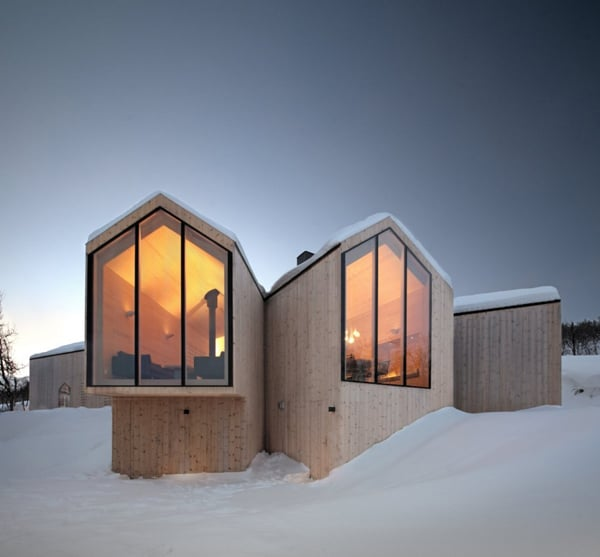 featured posts image for Split View Mountain Lodge vacation retreat in Norway
