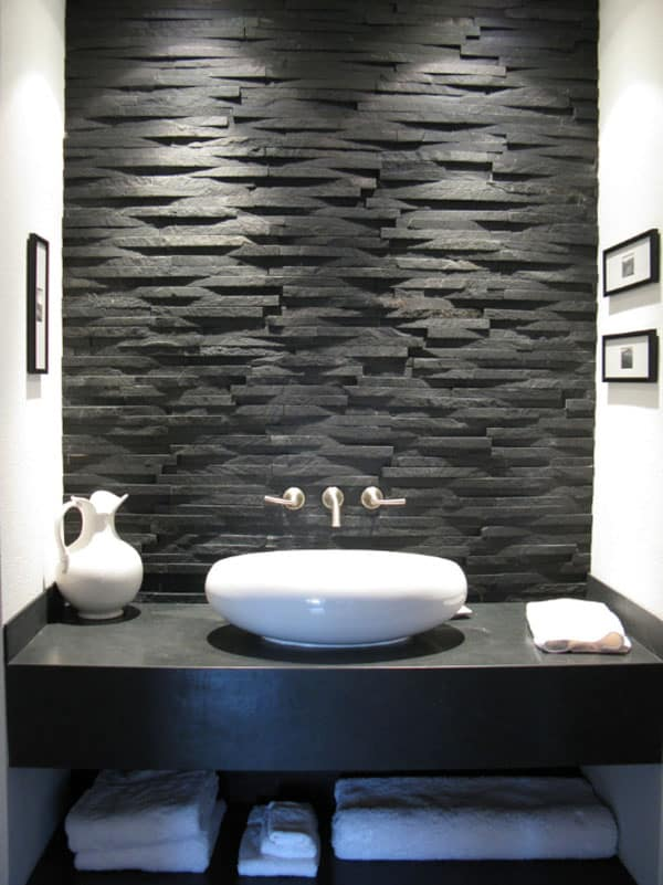 Stone Wall Bathroom-07-1 Kindesign