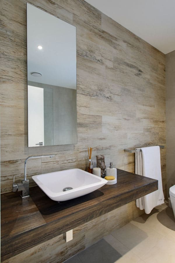 Stone Wall Bathroom-29-1 Kindesign