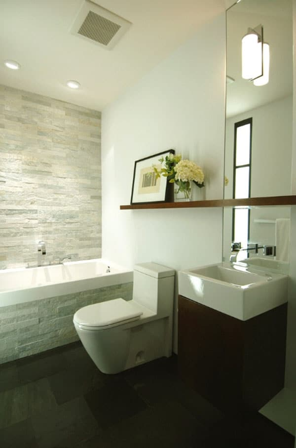 Stone Wall Bathroom-33-1 Kindesign