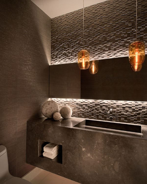 Stone Wall Bathroom-40-1 Kindesign