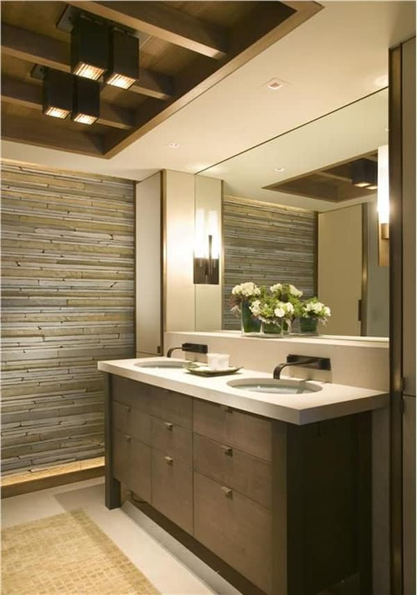 Stone Wall Bathroom-44-1 Kindesign