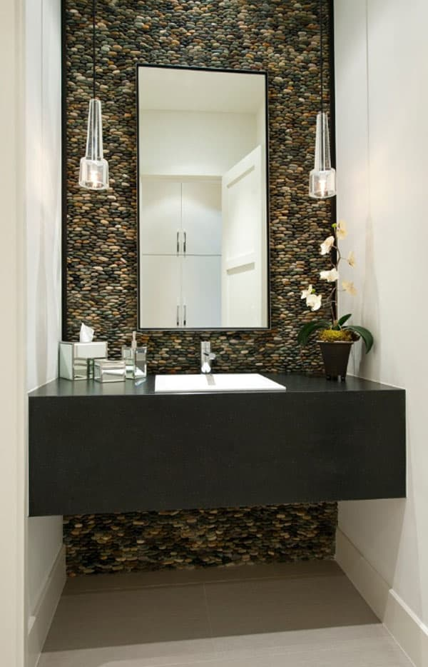 Stone Wall Bathroom-45-1 Kindesign