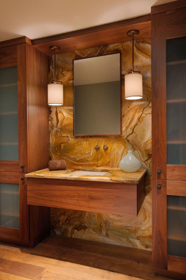 Stone Wall Bathroom-46-1 Kindesign