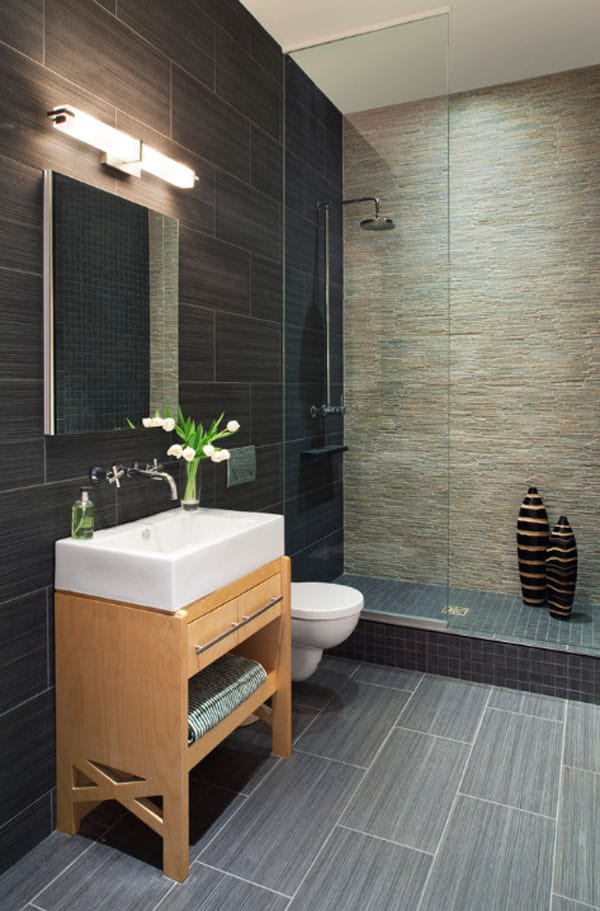 Stone Wall Bathroom-54-1 Kindesign