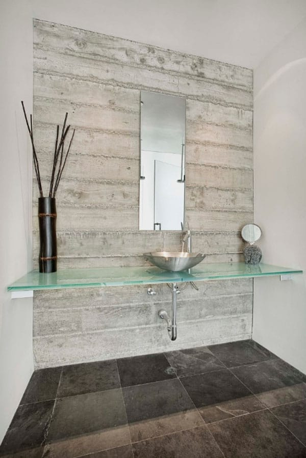 Stone Wall Bathroom-58-1 Kindesign