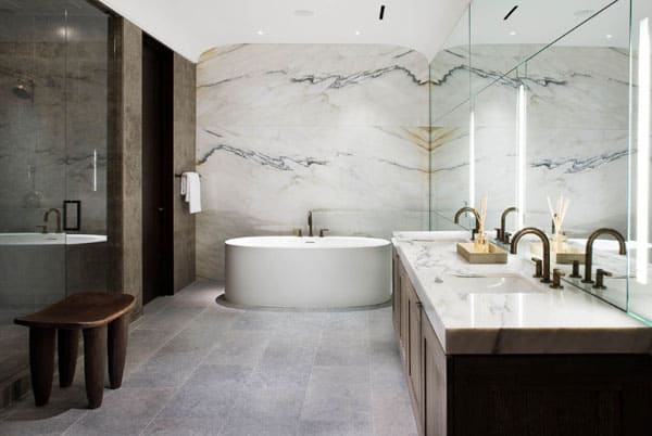 Stone Wall Bathroom-62-1 Kindesign
