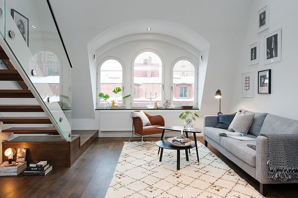 featured posts image for Compact and charming duplex apartment in Sweden